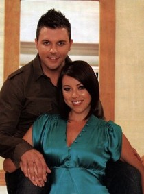 Johnny Shentall from hear'say and Lisa Scott-Lee from Steps