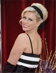 Suzanne Shaw from hear'say at The British Soap Awards