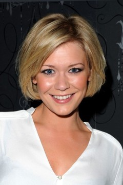 Suzanne Shaw from hear'say at the Baggage play press night
