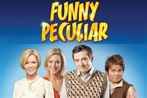 Suzanne Shaw from hear'say in the comedy play Funny Peculiar