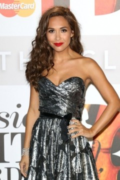Myleene Klass from hear'say at The Classical Brit Awards