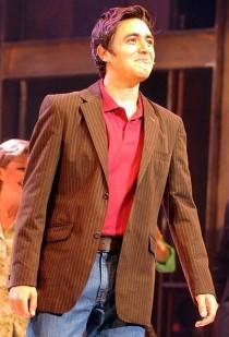 Noel Sullivan from hear'say in Flashdance the musical
