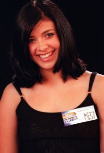 Kym Lomas formerly Marsh from hear'say at the Popstars Auditions