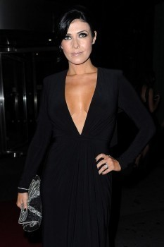 Kym Marsh from hear'say at a charity event